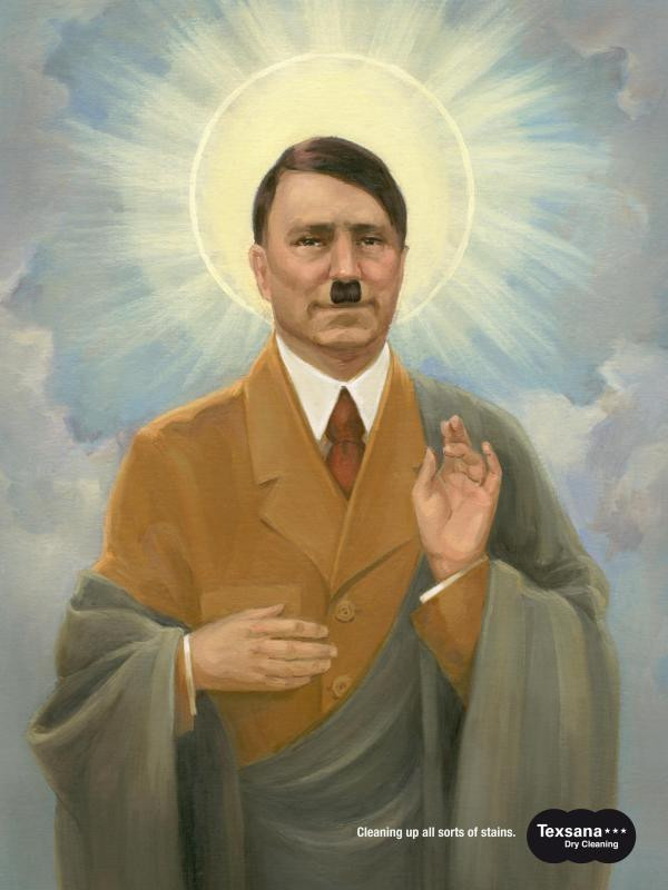 Image result for SAINT HITLER